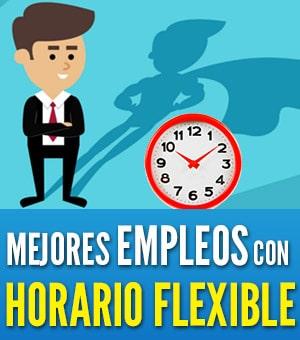 empleos con horario flexible