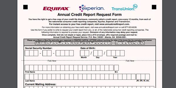 Annual Credit Report checar credito itin
