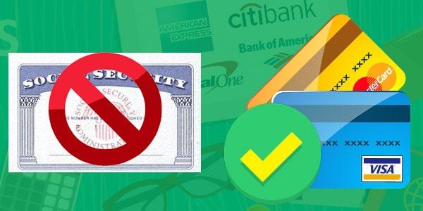 bancos cont arjetas de crédito con ITIN