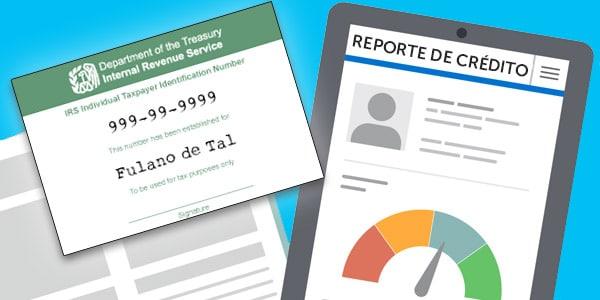 revisar credito con itin reporte de credito sin social