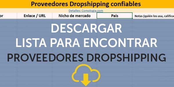 lista proveedores dropshipping