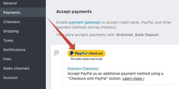 plataforma de pagos paypal shopify