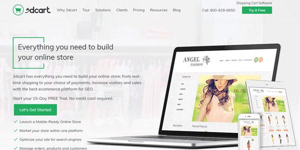 3dcart programas para una tienda online