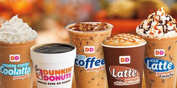 Dunkin Donuts Bebida gratis en tu cumpleaños