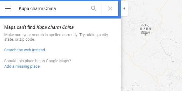 encontrar proveedores chinos verificados google maps