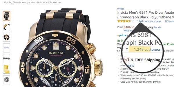 mejores nichos relojes de lujo amazon