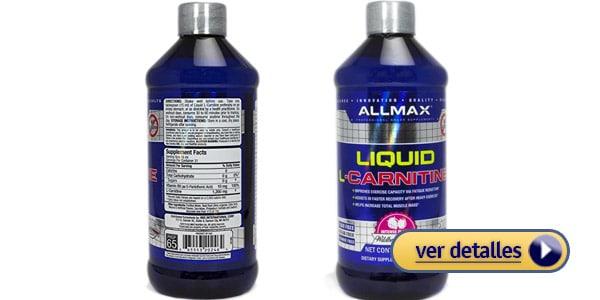 Allmax Liquid L Carnitine carnitina liquida