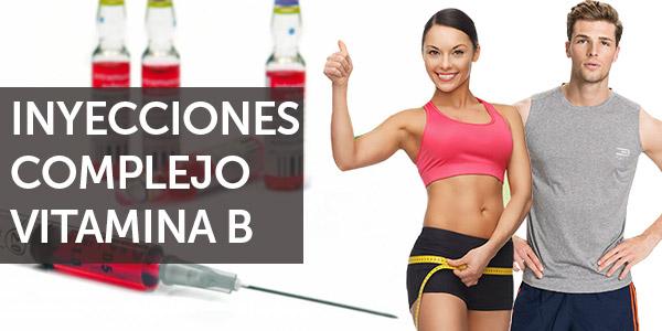 inyecciones de complejo B para perder peso