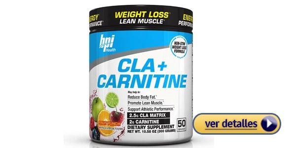 suplemento de L Carnitina para mujeres BPI Sports Cla Carnitine