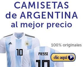 camisetas de argentina futbol seleccion