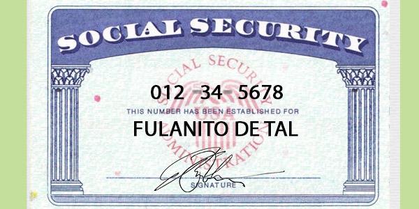 encontrar el número de social security de alguien