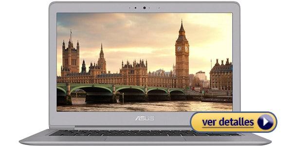 ASUS Zenbook UX330UA mejor laptop windows para viajar
