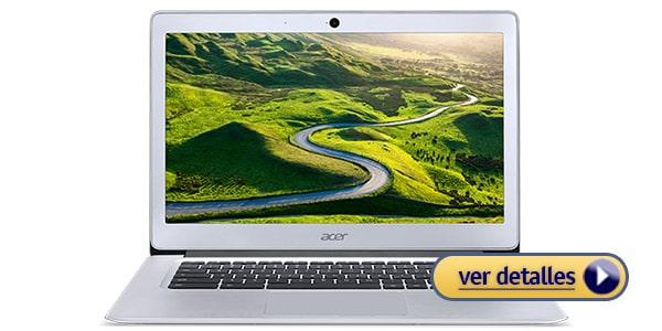 Acer Chromebook 14 laptop barata para escritores