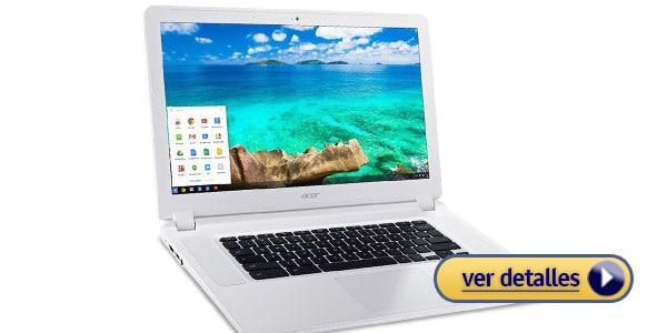 Acer Chromebook 15 laptop para viajar a un precio muy bajo
