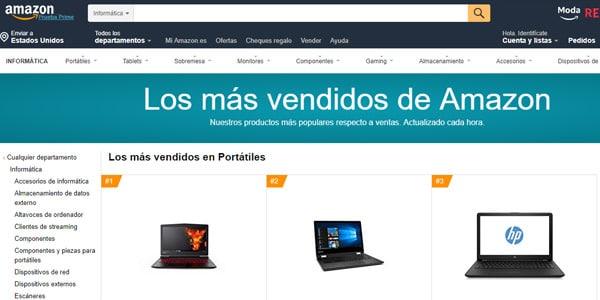 Amazon laptop barata