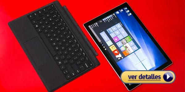 Microsoft Surface Pro 4 laptop 2 en 1 flexible para bloggers