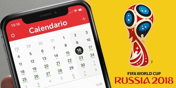 calendario del mundial FIFA rusia 2018 google calendar