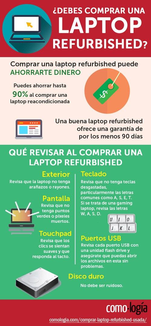 comprar una portátil refurbished reacondicionada renovada
