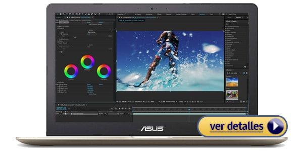 ASUS VivoBook Pro 15 4k Laptop para la edicion de audio y video