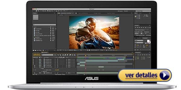 ASUS ZENBOOK Pro laptop para edicion video profesional