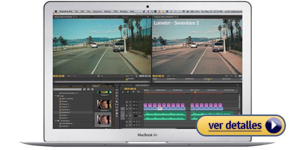 Apple MacBook Air Laptop de Apple para editar videos