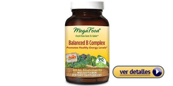 Complejo B MegaFood Balanced vegetarianos veganos