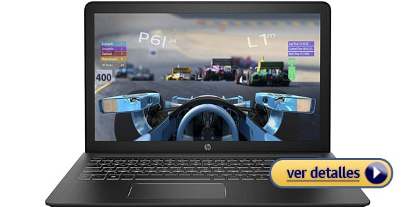 HP Pavilion Power 15 laptop barata para editar videos