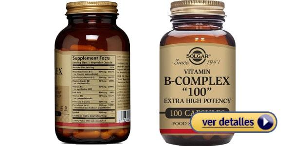 Mejor complejo B para perder peso