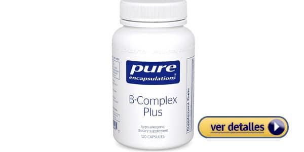 Pure B Complex Plus efectos secundarios