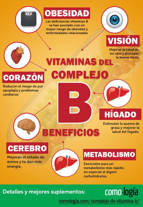 beneficios del complejo b