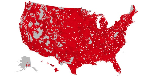 cobertura de verizon wireless mapa