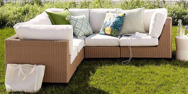 Muebles para el patio ofertas labor day