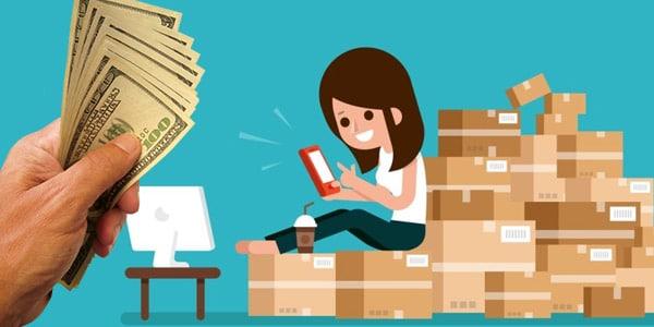 Vender productos por Internet trabajos que pagan cash