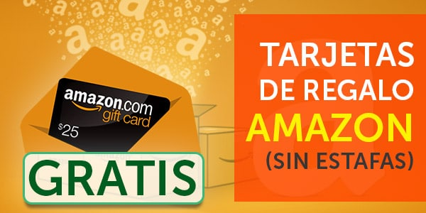 Formas reales de ganar tarjetas de regalo amazon gratis en for Regalo tutto gratis