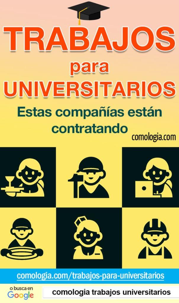 trabajos para estudiantes de universidad