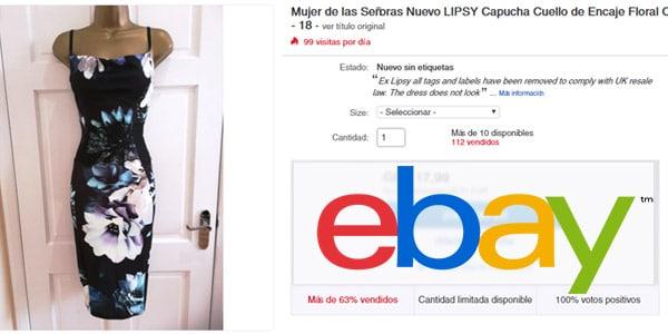 ebay vender ropa online