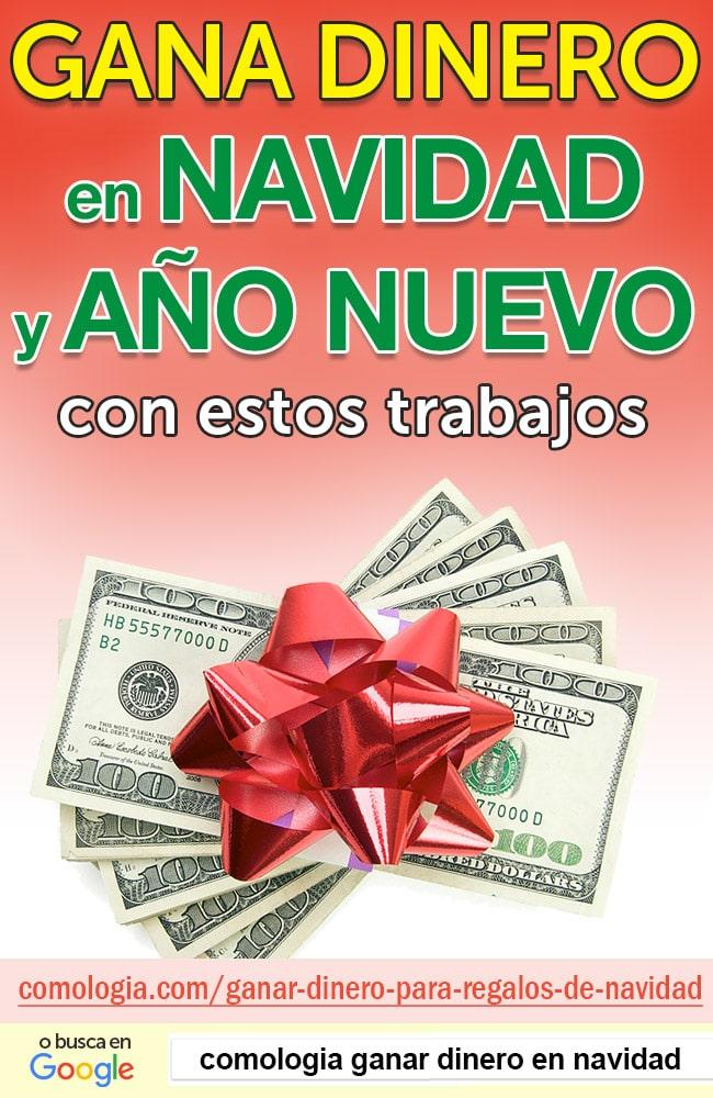 ganar dinero en navidad