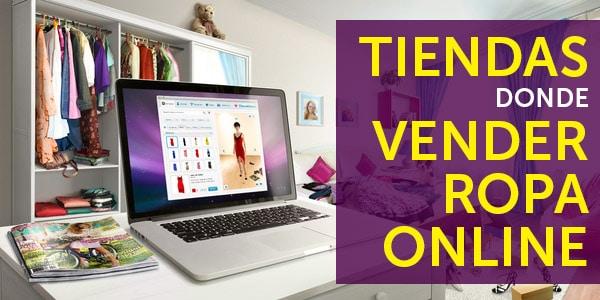 tiendas donde vender ropa online
