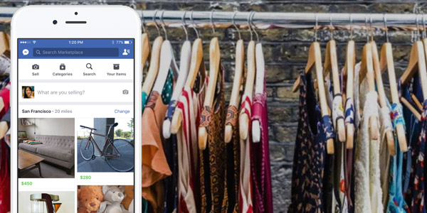 vender ropa facebook instagram