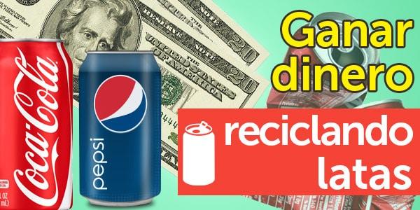 ganar dinero reciclando latas de aluminio