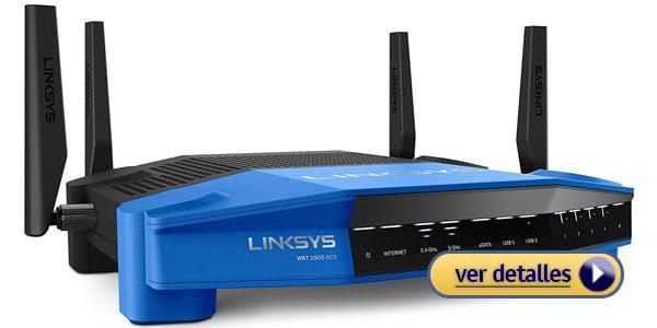 Linksys WRT1900ACS Mejor router con mayor alcance