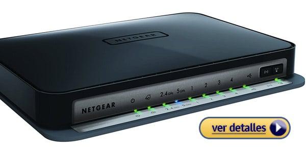 Netgear N750 router barato para juegos por Internet