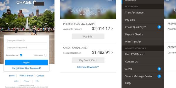 aplicacion chase cuenta bancaria