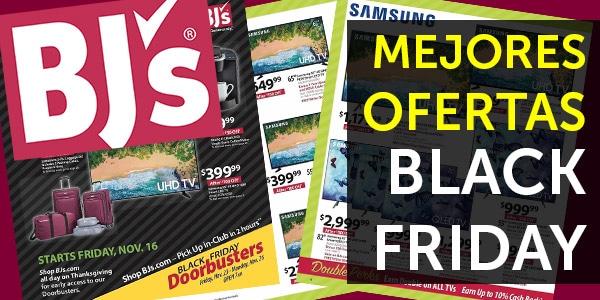 bjs wholesale ofertas black friday viernes negro