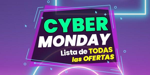 cyber monday lista de ofertas