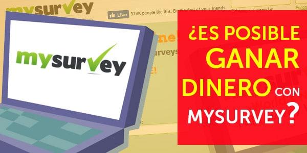 ganar dinero con mysurvey
