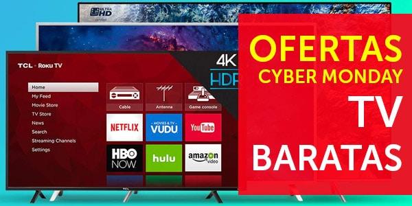 ofertas cyber monday television lunes cibernetico
