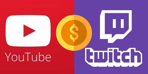 youtube o twitch
