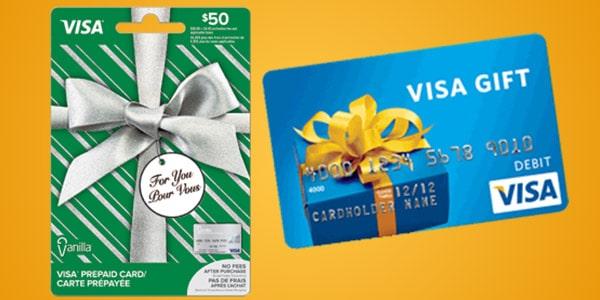 Tarjeta de regalo Visa mejores gift cards regalar