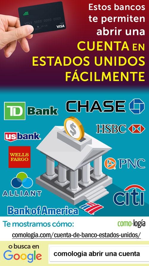 bancos abrir una cuenta en estados unidos sin social